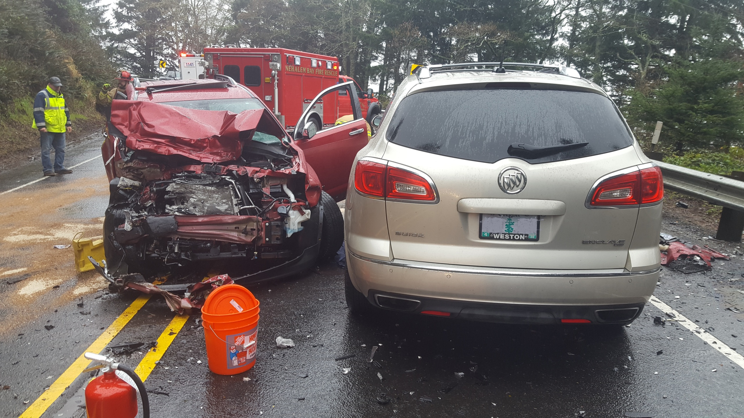 By Photo Congress || Highway 101 Oregon Accident Today