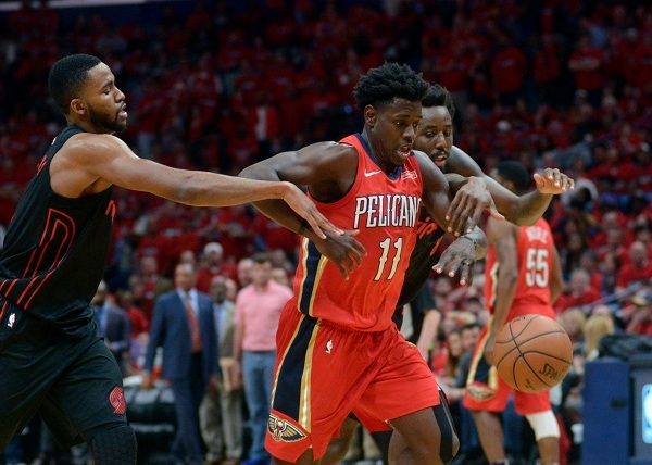 Trail Blazers Pelicans Basketball_1524194171279