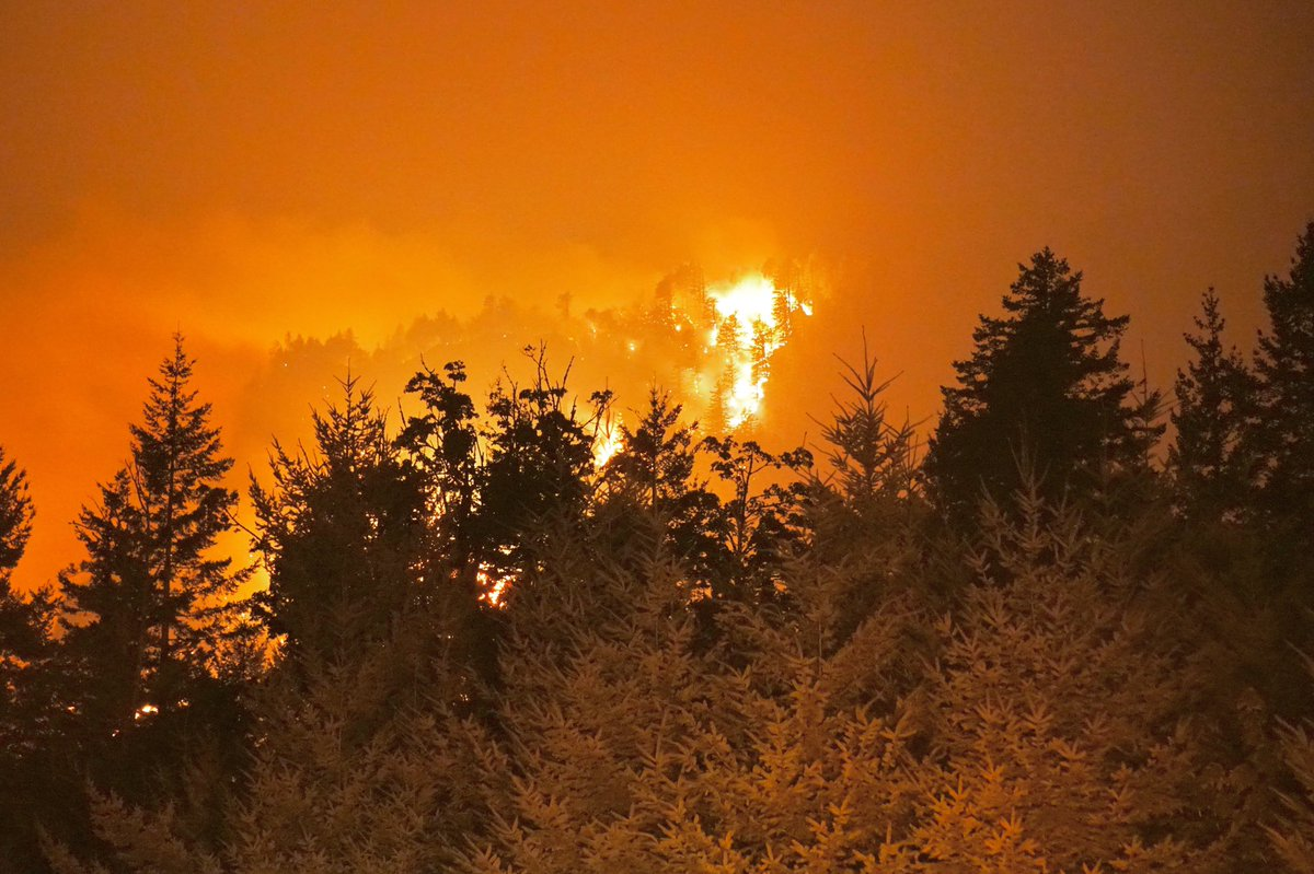 Eagle Creek Fire, September 5 2017. (KOIN)_514431