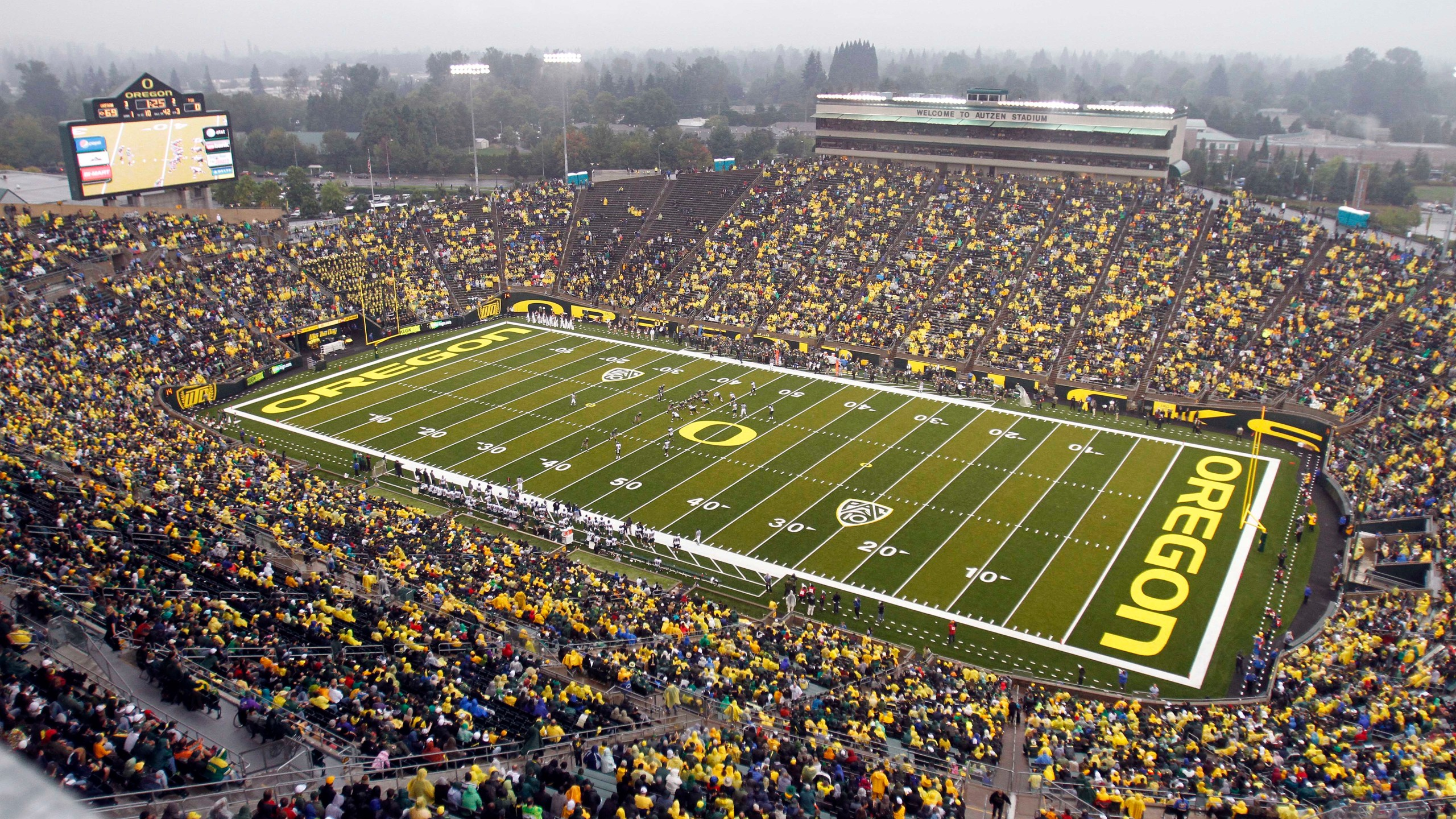 University of Oregon's Autzen Stadium