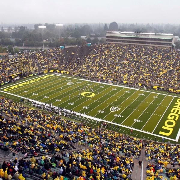 University of Oregon's Autzen Stadium