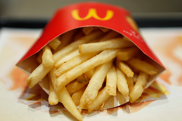 mcdonald's french fries fast food-846653543