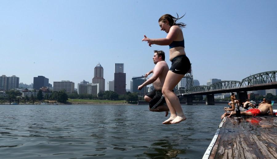 generic willamette river generic swim