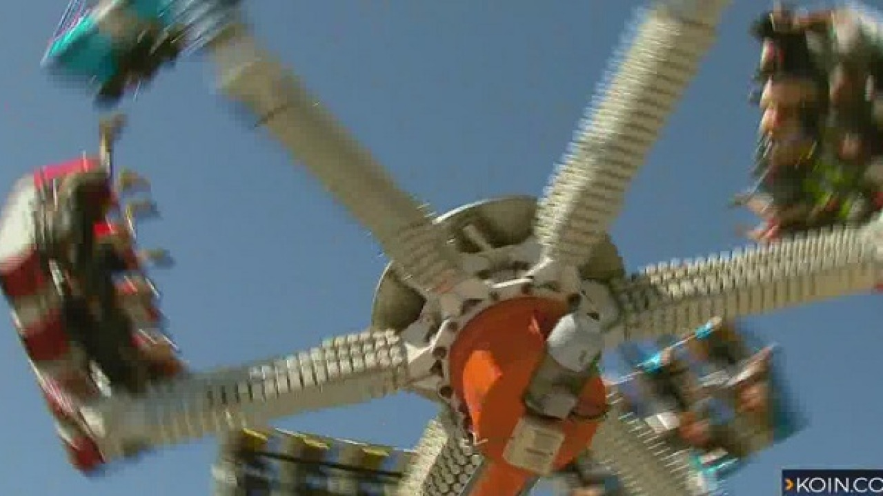 Teen 'not comfortable' with Clark County Fair ride
