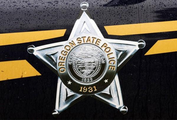 Oregon state police badge generic