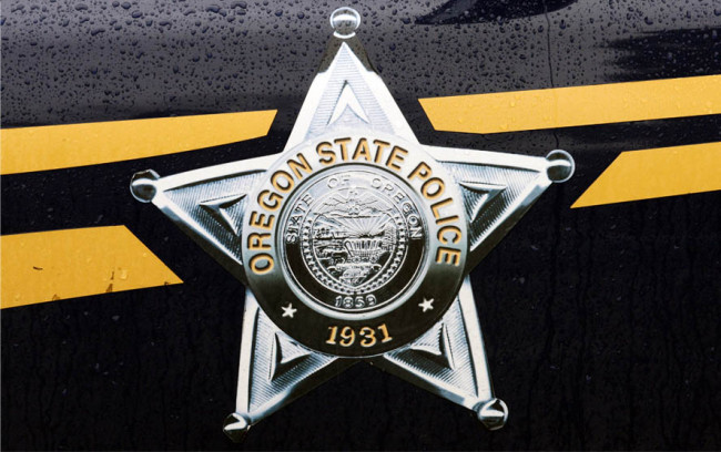 Oregon state police badge generic