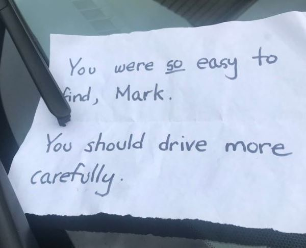 you were so easy to find mark car slashed tires_1540444706781.JPG.jpg