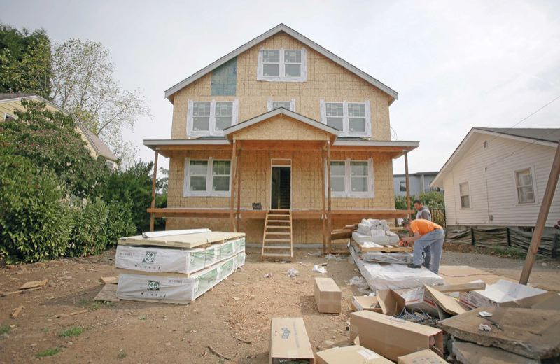 The ongoing shortage of homes for sale continues to push up prices. construction generic housing boom portland_306253