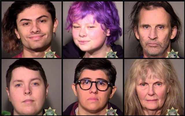 6 arrested during 'civil disturbance' in Portland