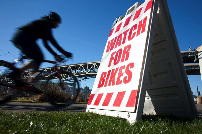 Bicycle riders (Portland Tribune, file)