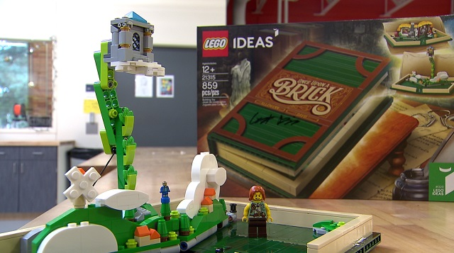 George Fox student's LEGO design becomes reality