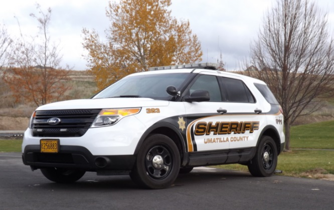 The Umatilla County Sheriff's car. (Umatilla Co.)_353243