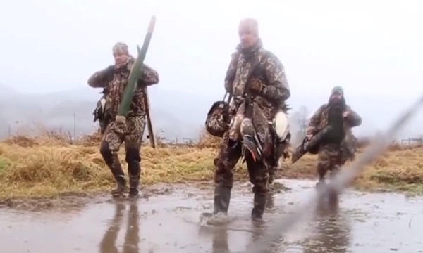 Mild winter means fewer migrating ducks for hunters