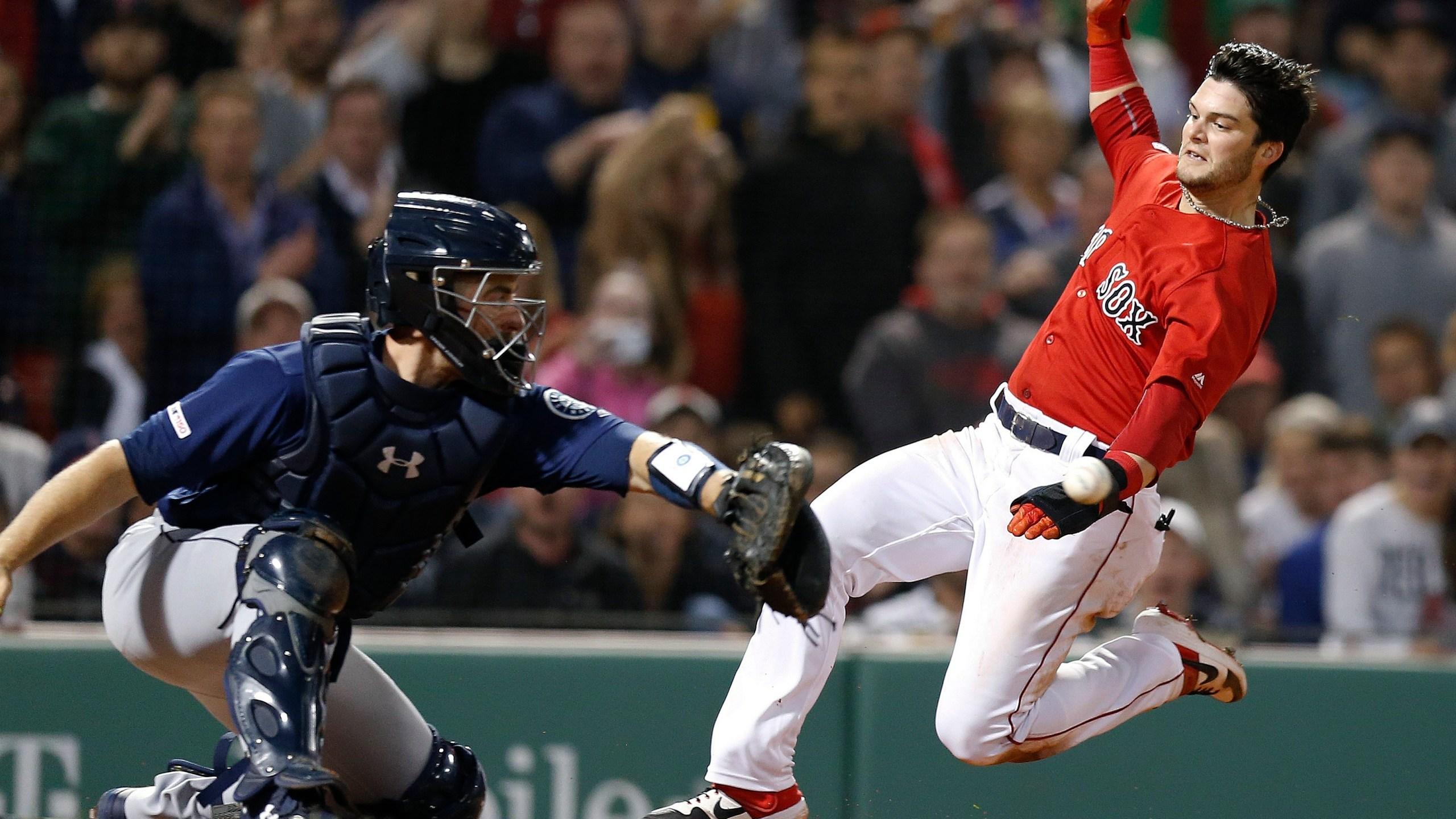 APTOPIX Mariners Red Sox Baseball_1557545000105