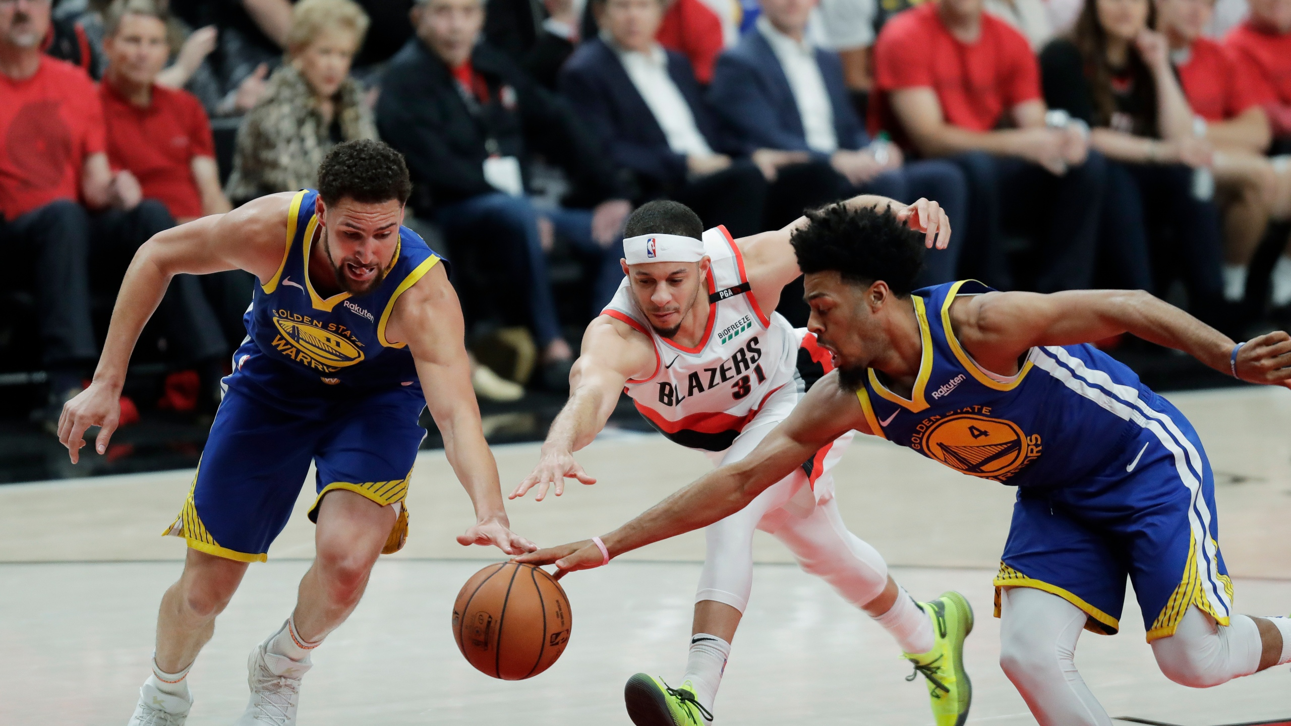 Warriors Trail Blazers Basketball_1558408707716
