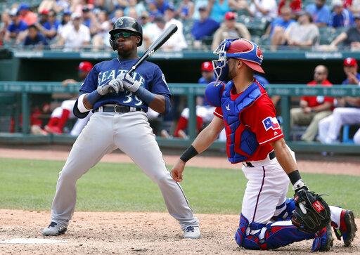 Mariners Rangers Baseball_1558571815747