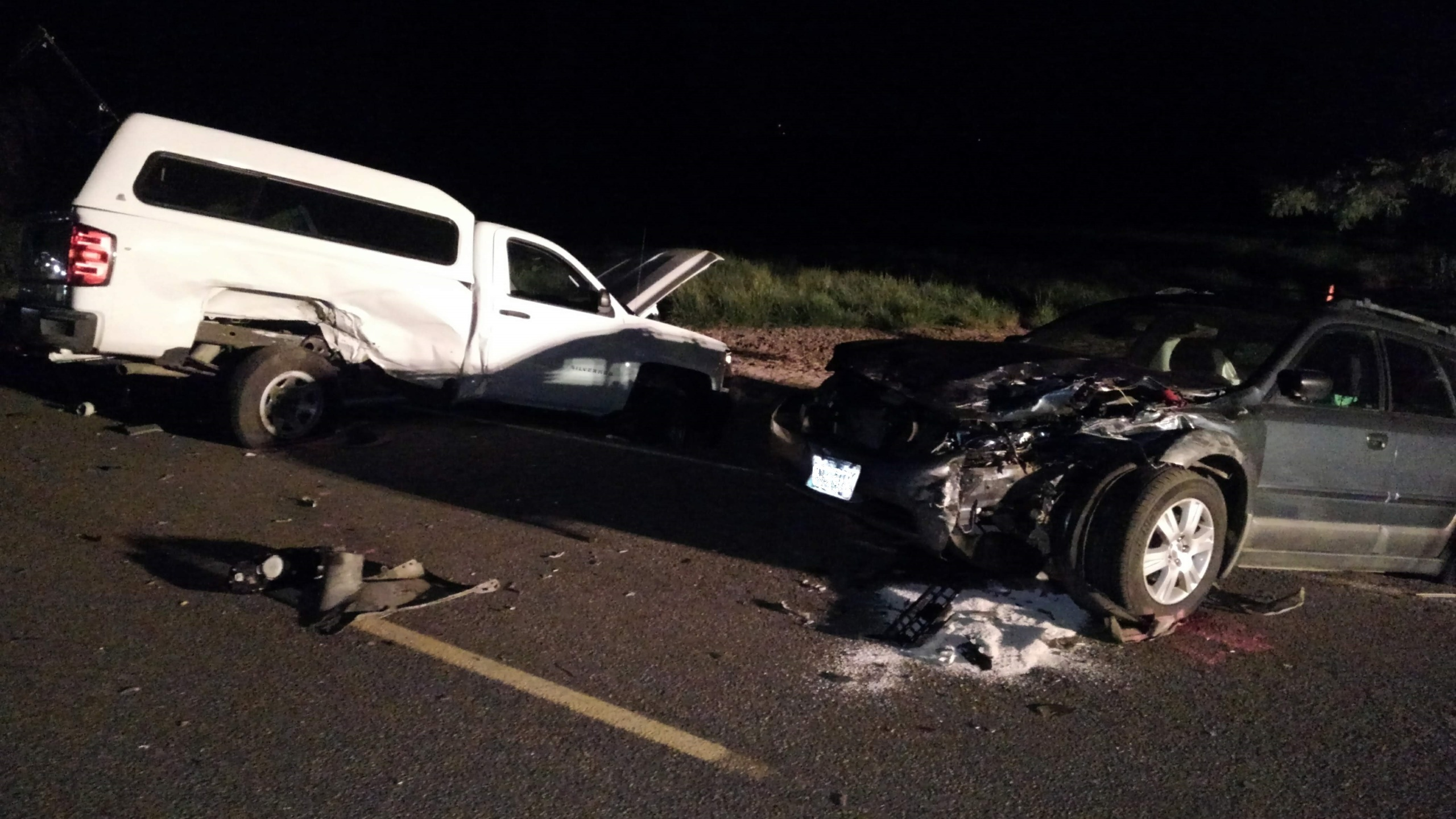 Woman dies in chain-reaction crash in Polk County