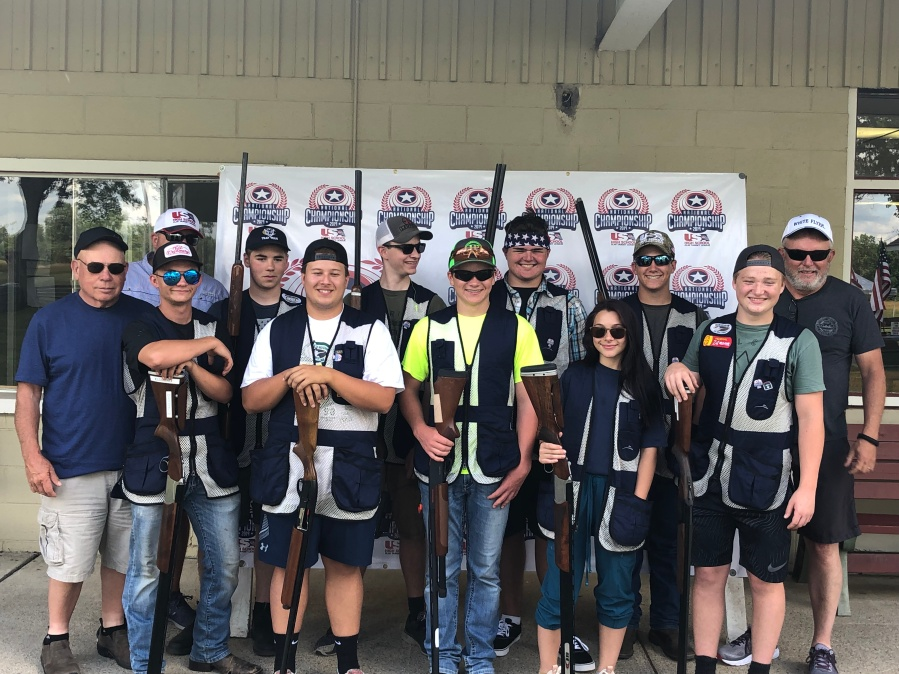 canby hs trap team