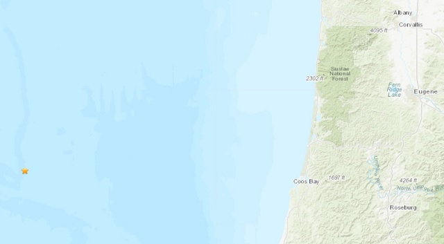 5 4 quake recorded off Oregon coast | WJHL | Tri-Cities News