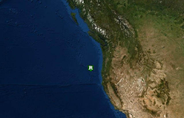 5 4 quake recorded west of Bandon in Pacific   KOIN com