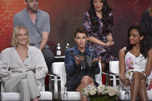 Rachel Skarsten, Ruby Rose, Meagan Tandy