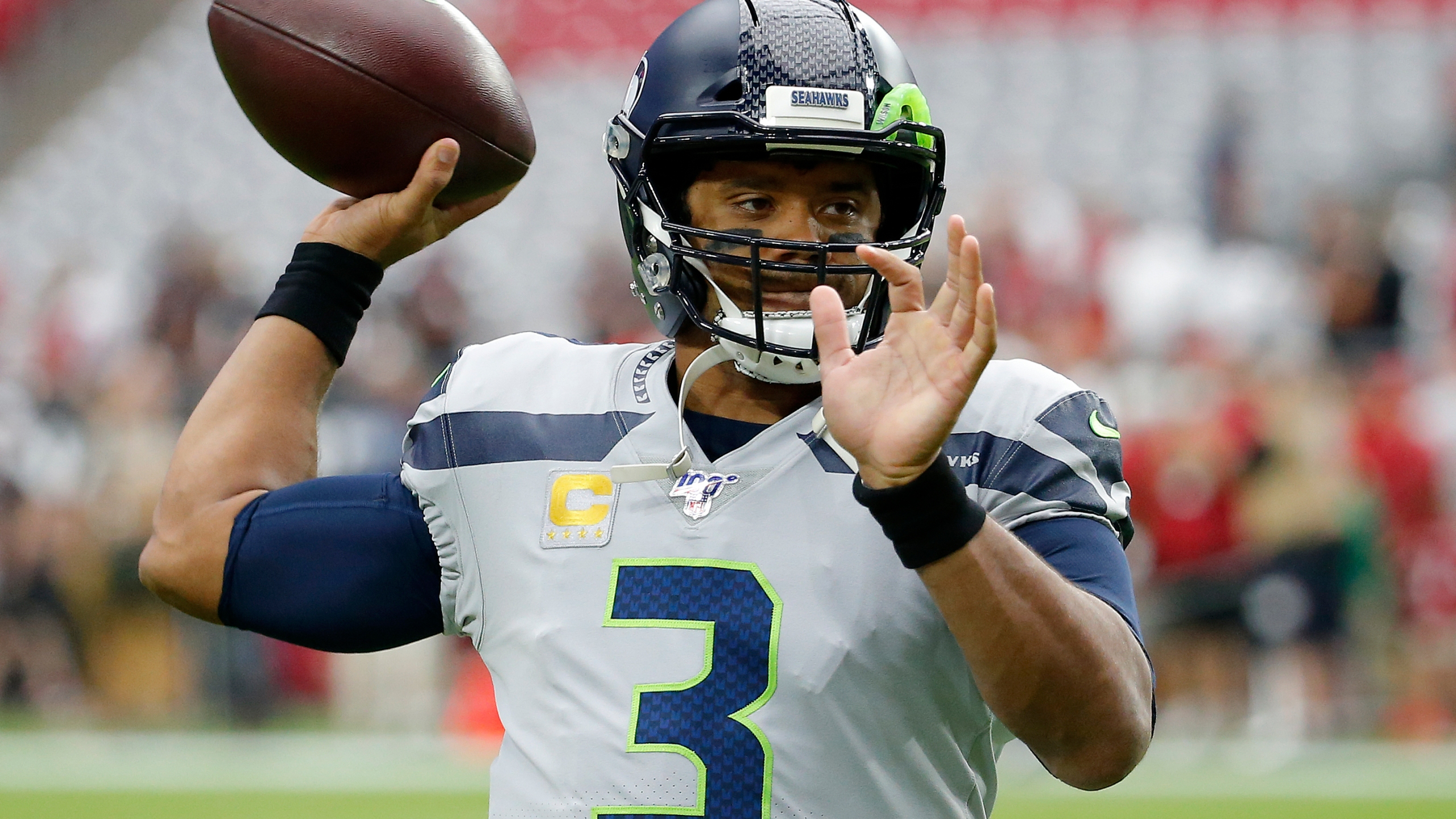 Seahawks Wilson Setting Qb Standard For Cardinals Murray