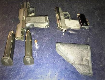 Man with concealed weapons permit charged with disorderly conduct involving firearms