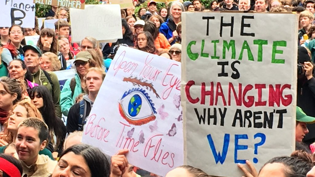 Auburn joins the strike as climate activists rally around the world