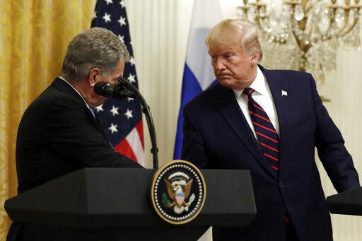 Donald TrumpSauli Niinisto