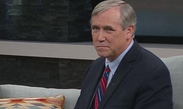 Merkley talks Trump impeachment during KOIN visit