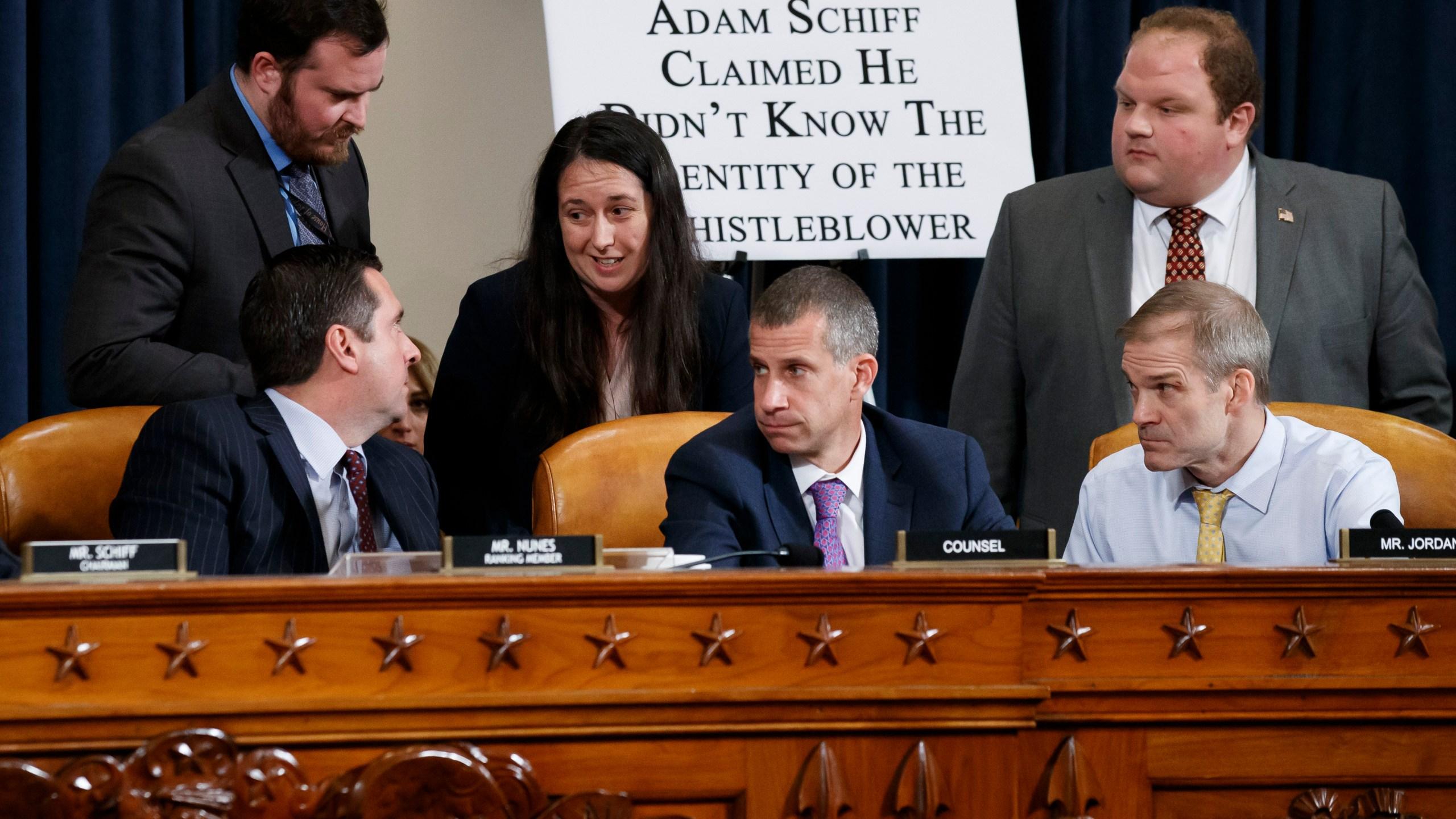Devin Nunes, Steve Castor, Jim Jordan