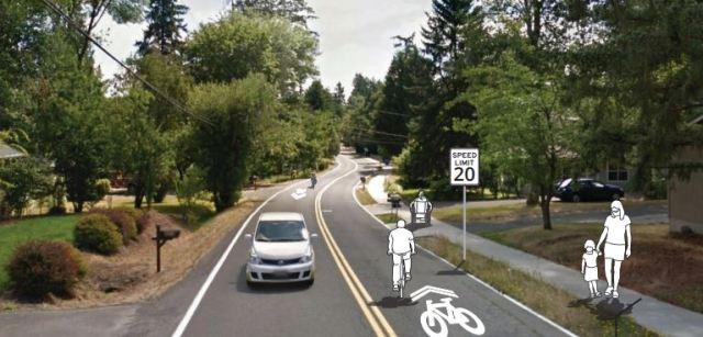 Sidewalks, bike lanes, less cars part of plan for Southwest Portland