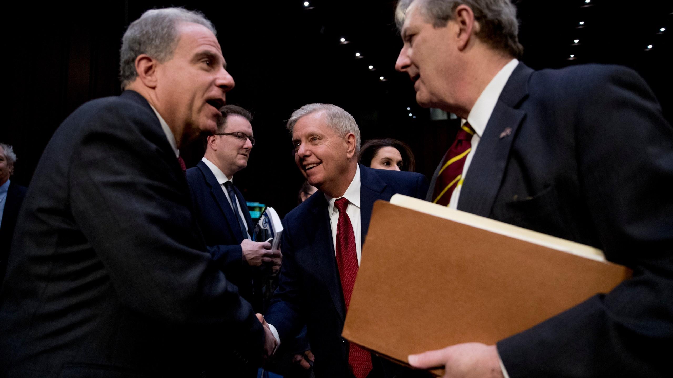 Michael Horowitz, John Kennedy, Lindsey Graham