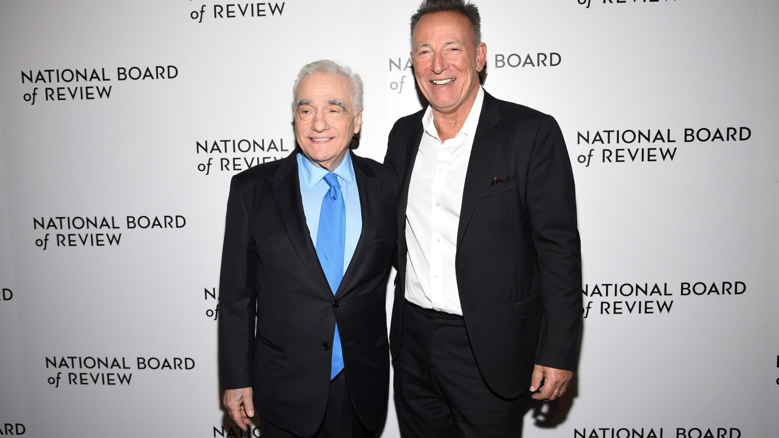 Martin Scorsese, Bruce Springsteen