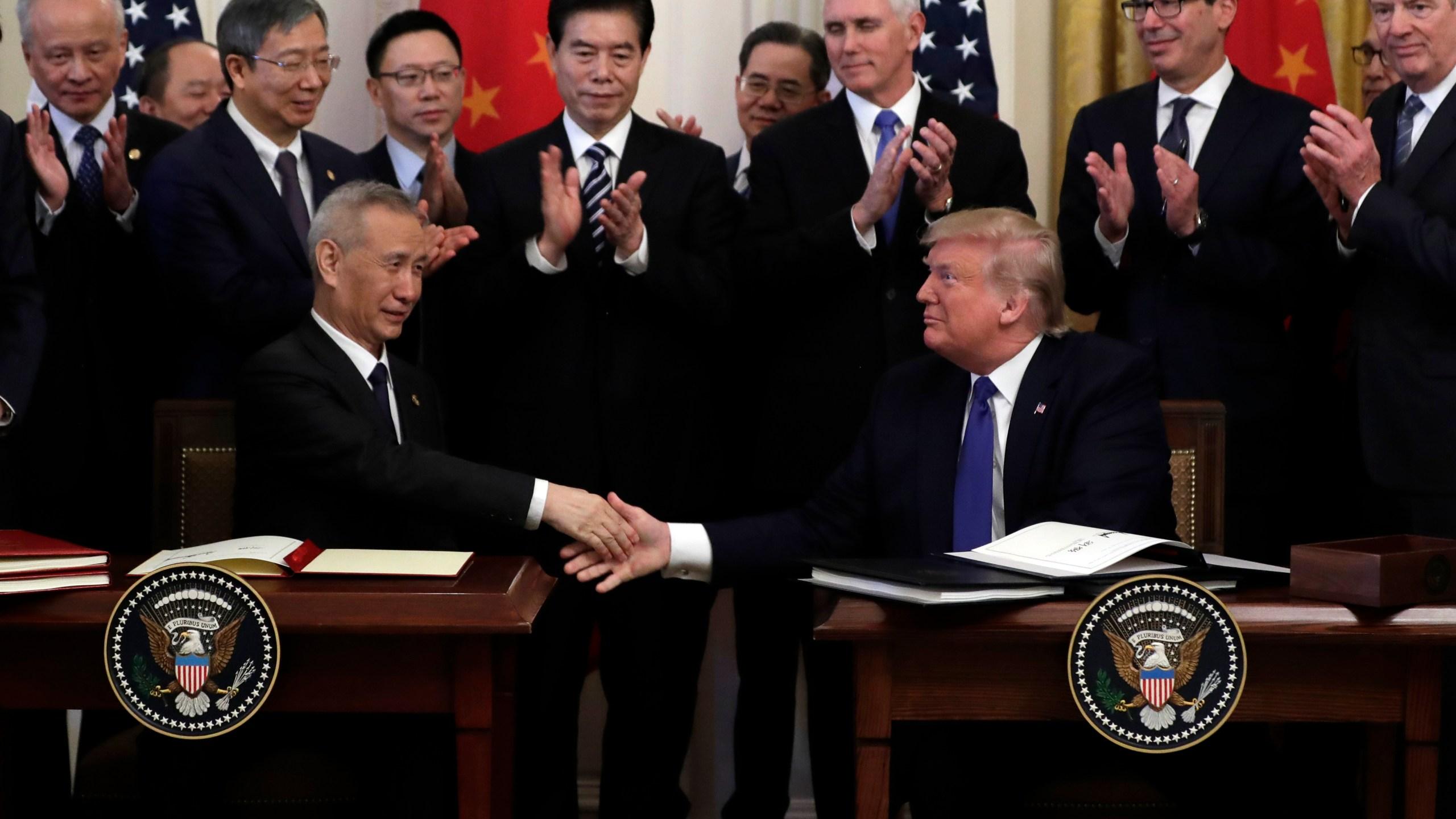 Donald Trump Liu He