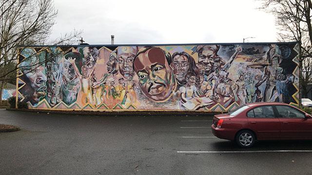 Mlk Mural Artist Art Can Be Spiritual Link For African Americans Koin Com