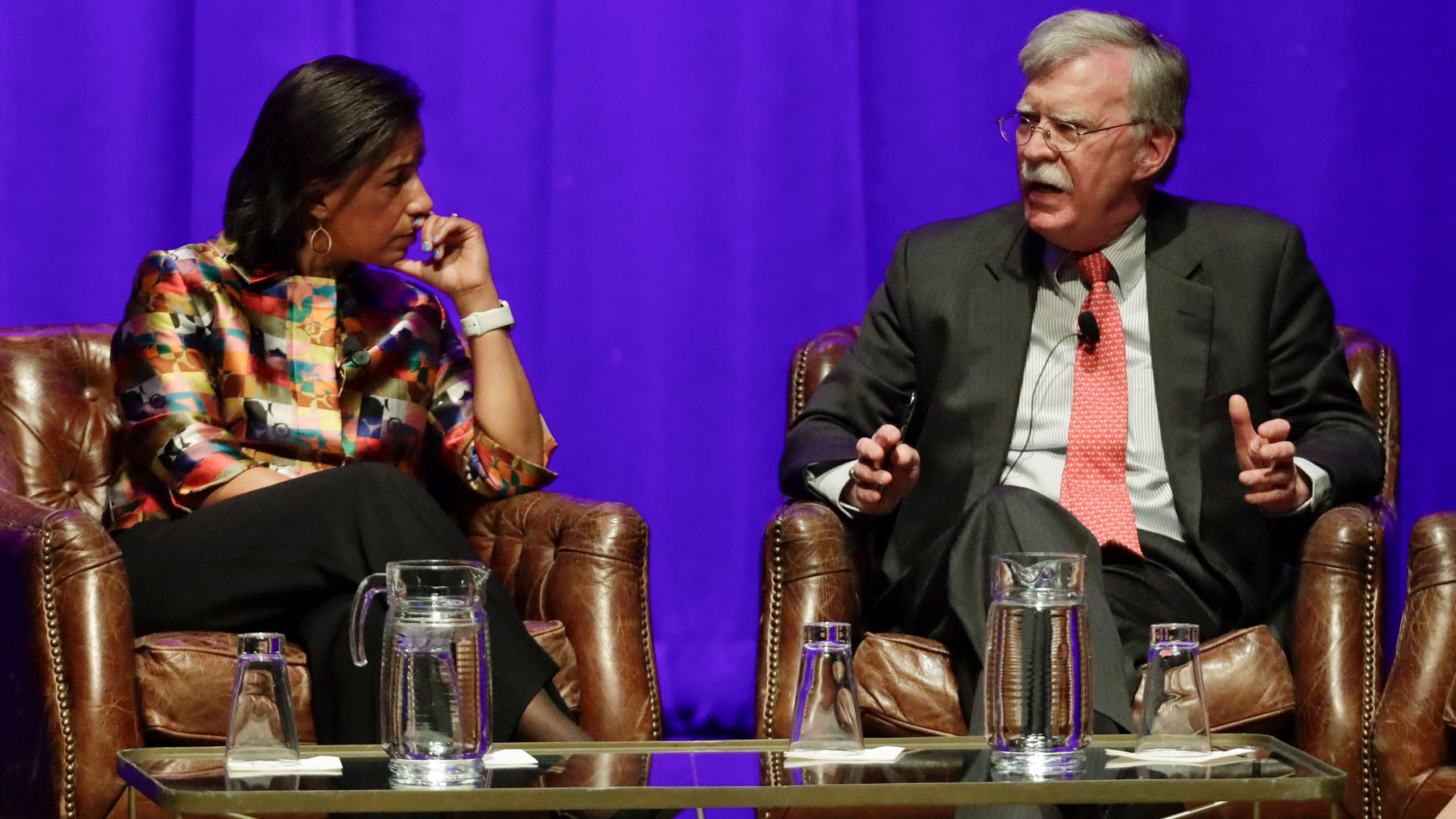 Susan Rice, John Bolton