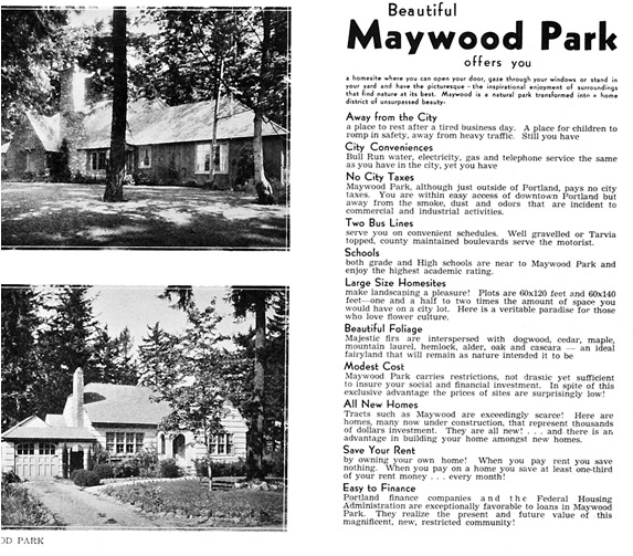 Where We Live: Maywood Park, A City Within A City