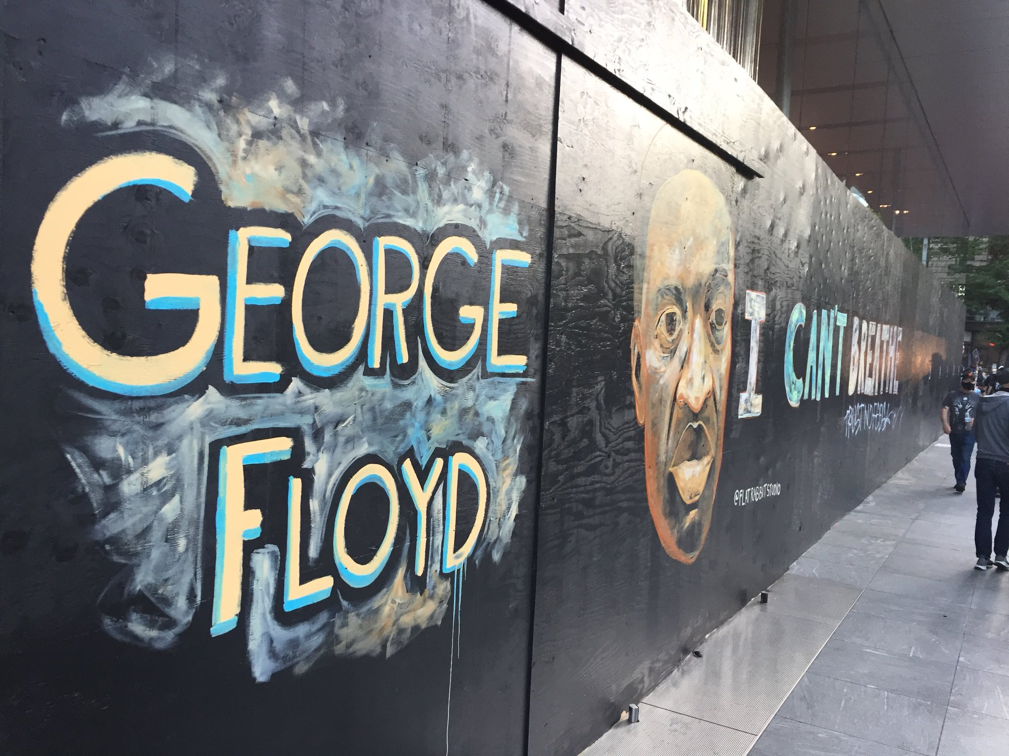 Murals In Portland Memorialize Those Killed By Police Koin Com