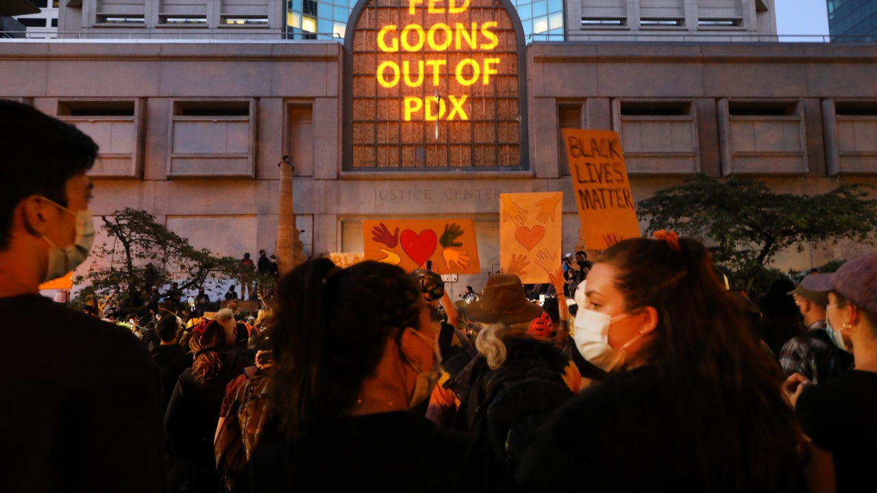Feds to withdraw from Portland, OSP will be downtown