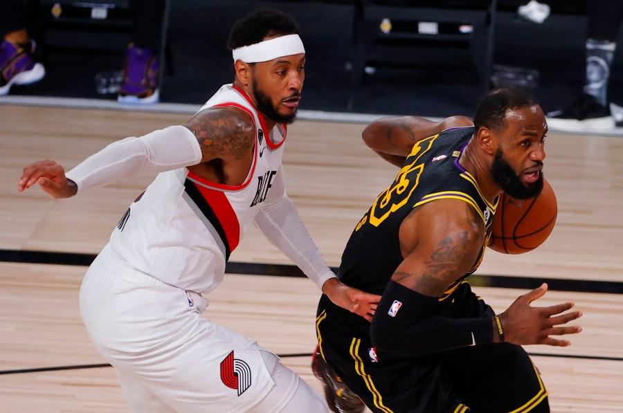 On Kobe Bryant Day Lakers Dominate Blazers Koin Com