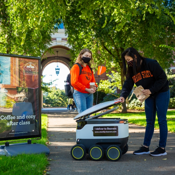 OSU delivery robot 102220