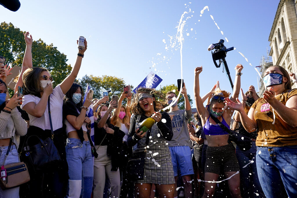 Photos, video show celebrations in cities across US after ...