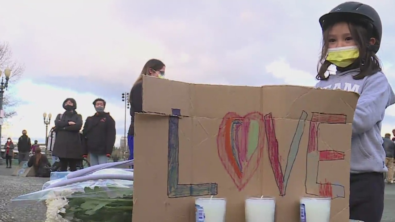 www.koin.com: Hundreds rally against Asian hate in Portland