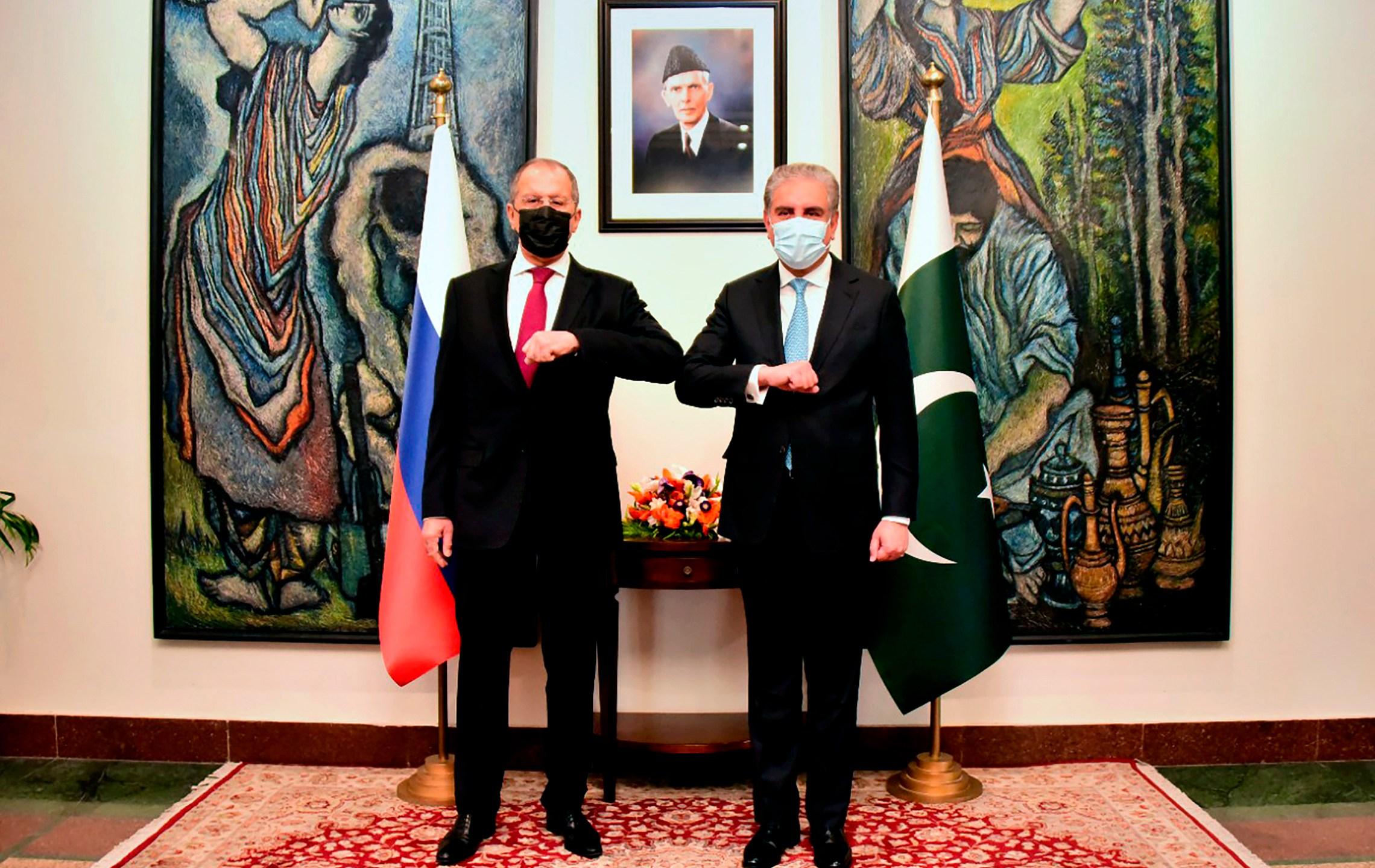 Sergey Lavrov, Shah Mahmood Qureshi