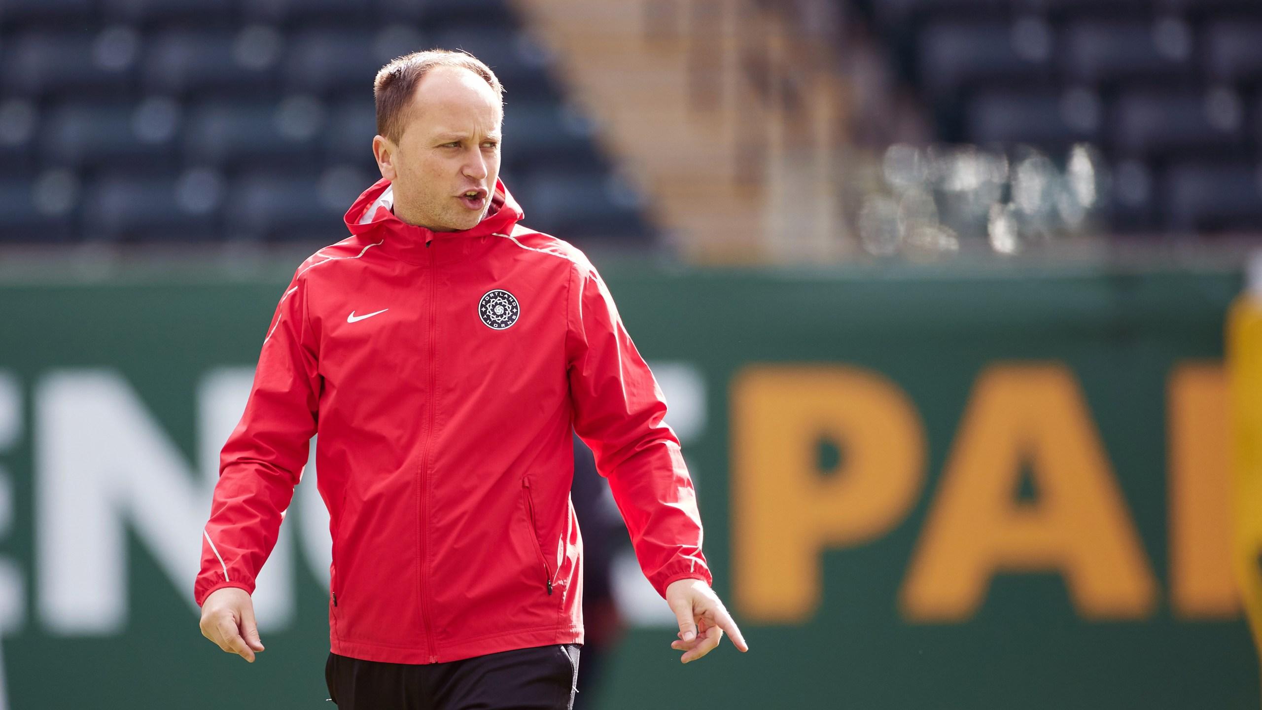 Portland Thorns Head Coach Mark Parsons