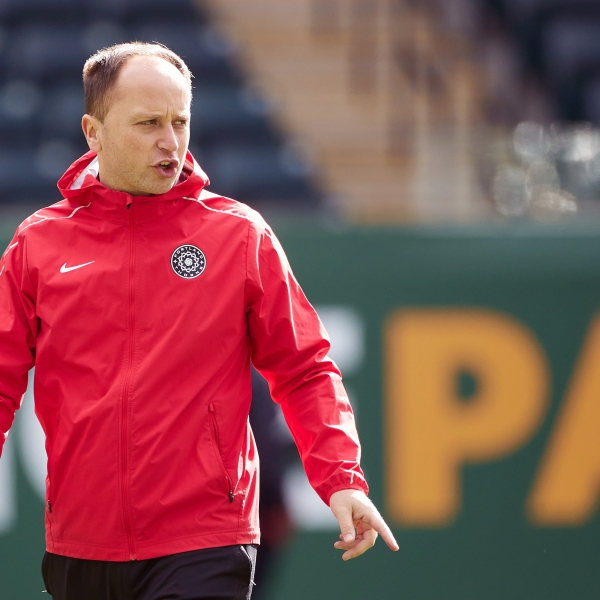 Portland Thorns Head Coach Mark Parsons