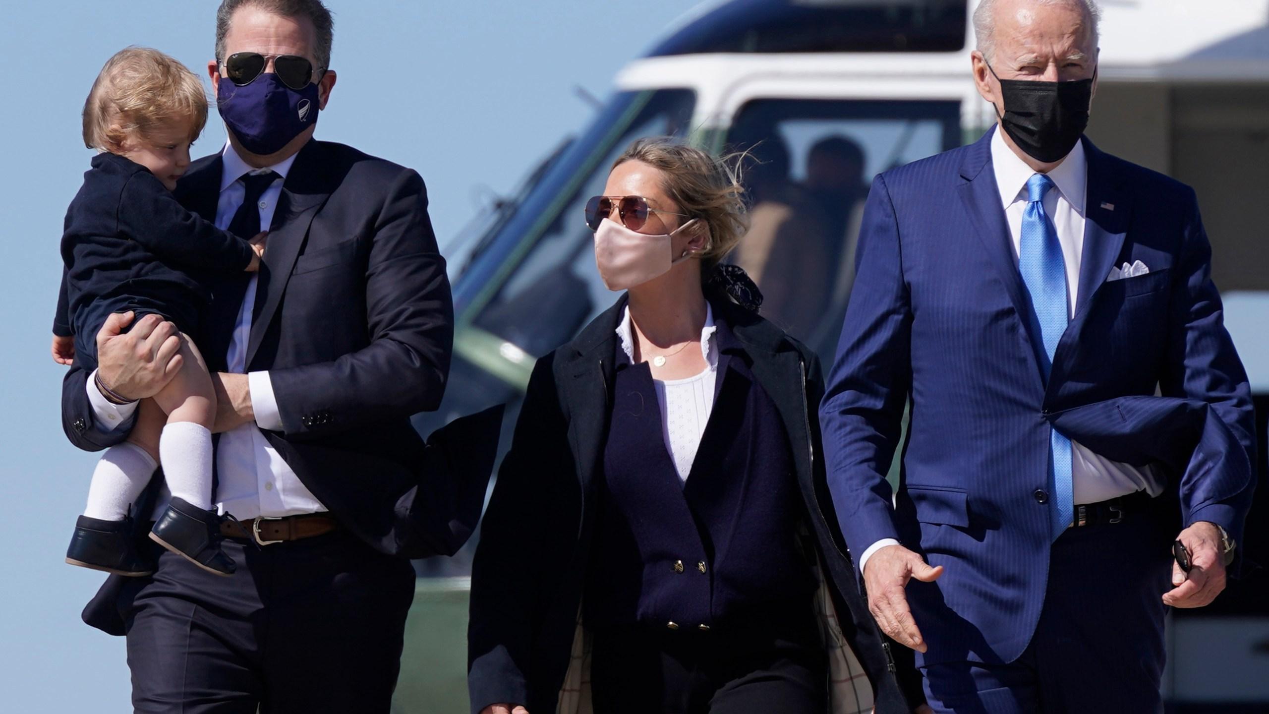 Joe Biden, Hunter Biden, Melissa Cohen