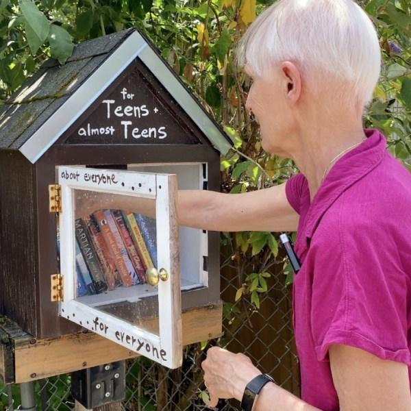 Chris Gustafson's Little Free Library