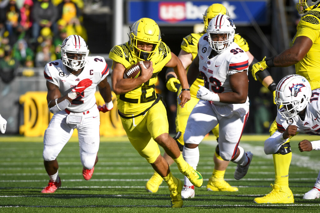 Ducks blow out Stony Brook, improve to 3-0   KOIN.com